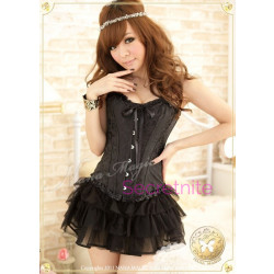 Pretty Daydreams Black Corset