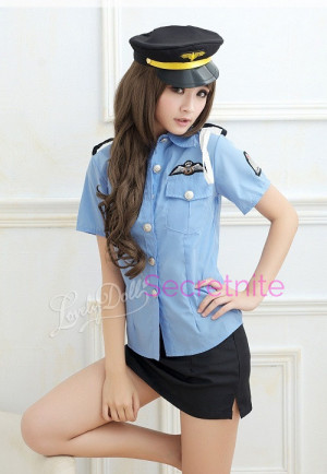 Miss Police Woman Costume