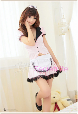 Naughty and Cute Maid Costume