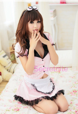 Naughty and Cute Maid Costume
