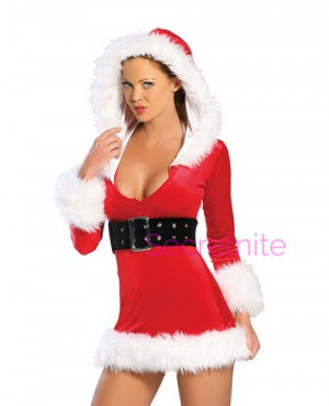 Sultry Santa Halloween Costume