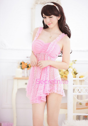Sweet Loving Babydoll Set