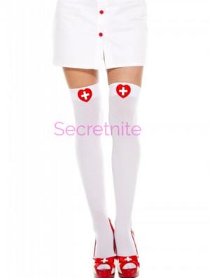 Nurse Thigh High Stockings