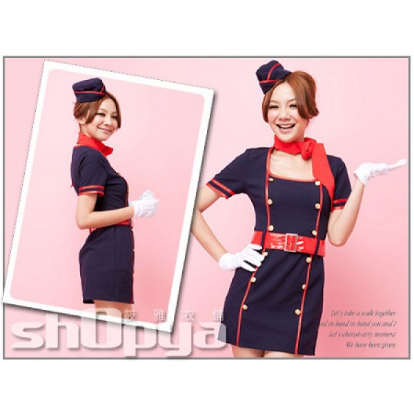 Airline Stewardess Costumes
