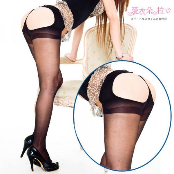 Sheer Thong Back Pantyhose
